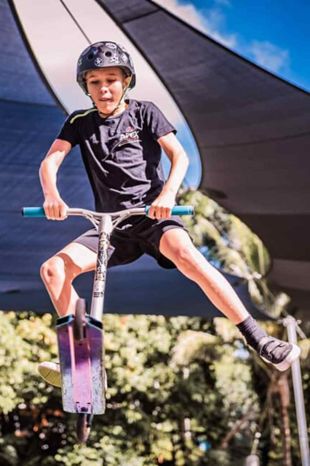 Teen at Redlynch Skate Park