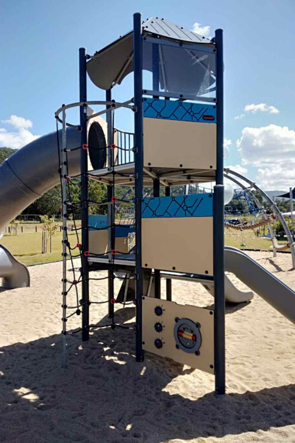 Bluewater playground slides