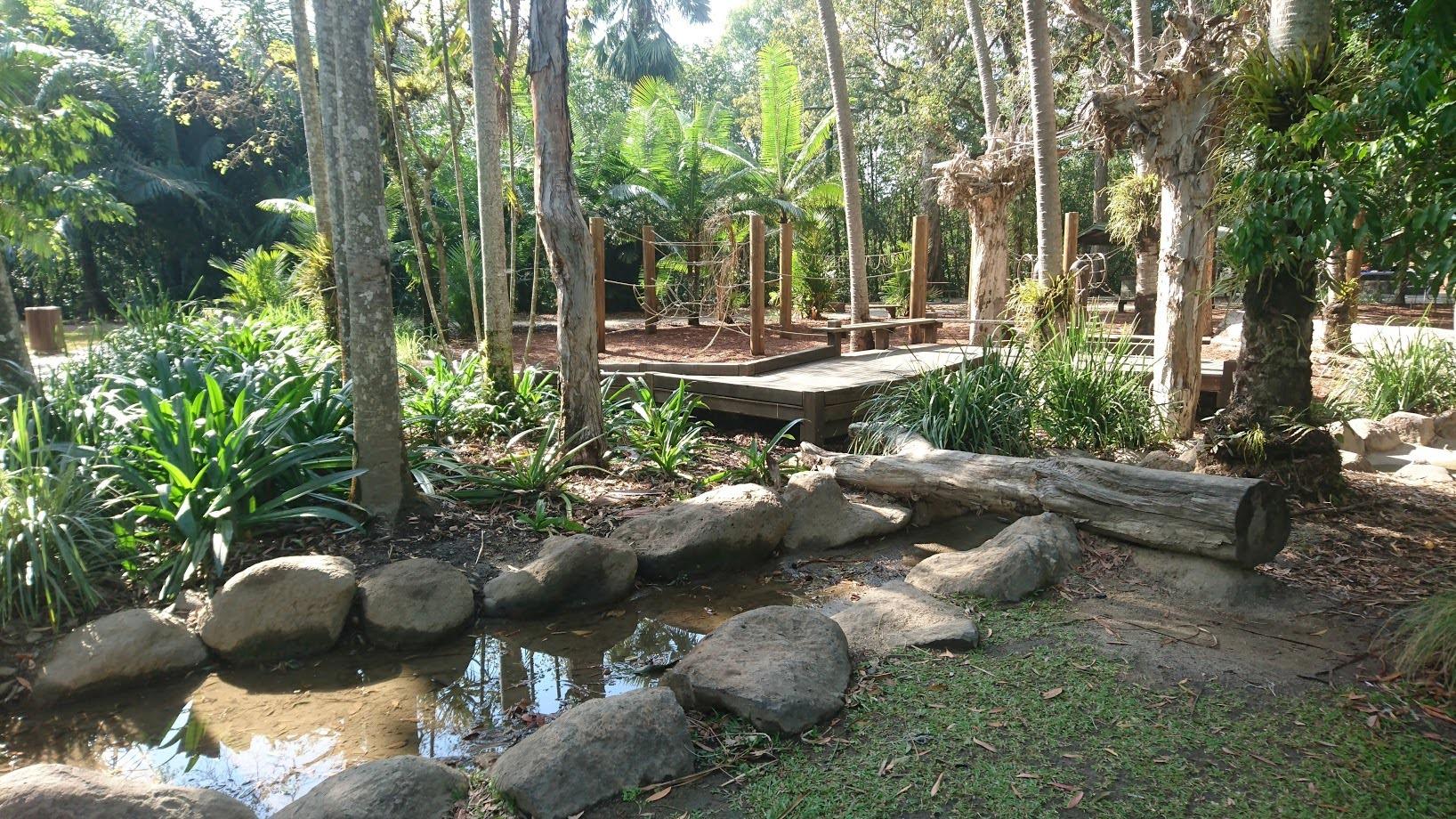 Centenary lakes playground