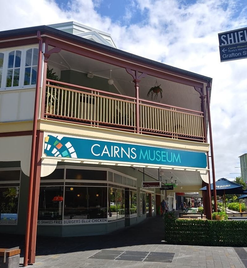 Cairns Museum from the street