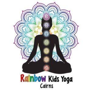 Rainbow Kids yoga Logo