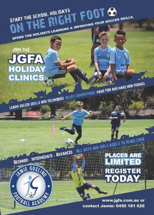 JGFA Holiday Clinics