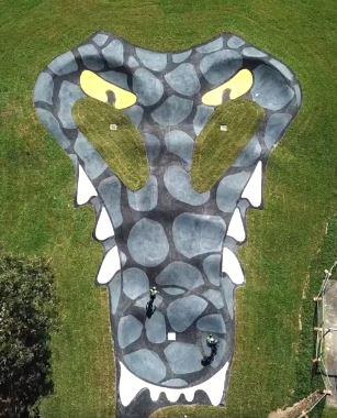 crocodile pump track